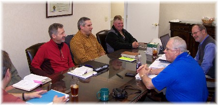 Williamsport CBMC team meeting