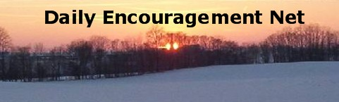 Daily Encouragement Net Header (Winter sunset in Lancaster County)
