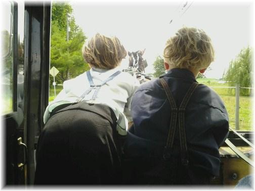 Amish buggy ride 7/12/12