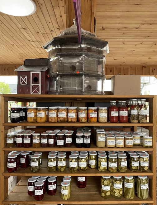 Spookynook Produce canned goods