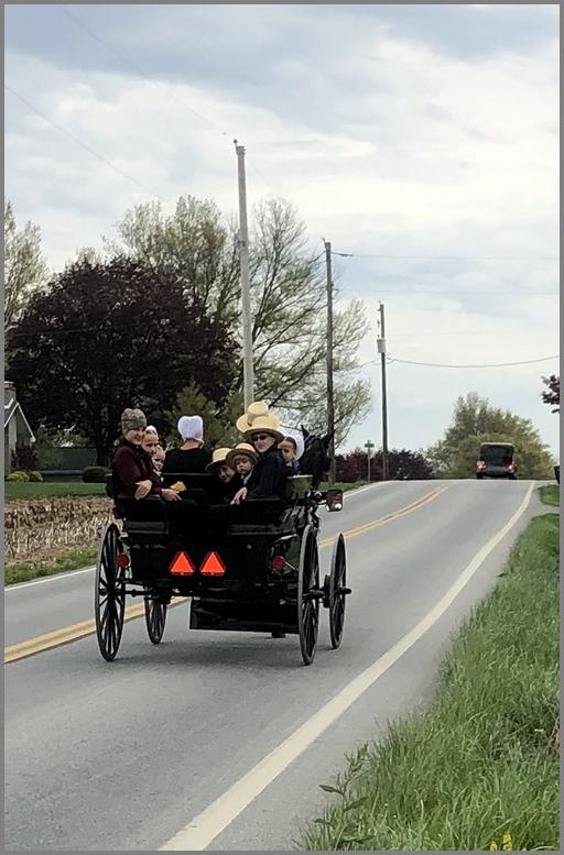 Amish Sunday traffic 5/3/20