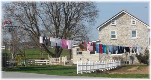 Amish clothesline 4/10/13