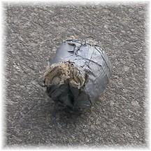 Duct tape baseball at Amish school 11/18/10