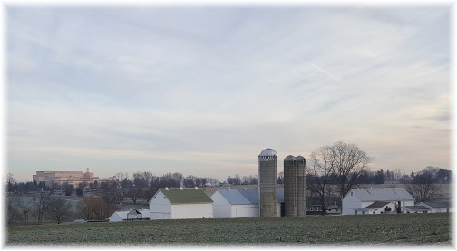 Amish farm, Sight and Sound Theater 12/21/16