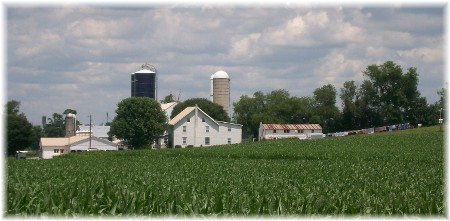 Amish farm in Lancaster County PA