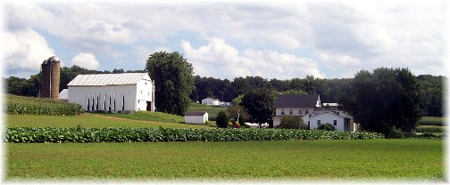 Lancaster County PA Amish farm