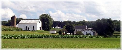 Lancaster County PA Amish farm