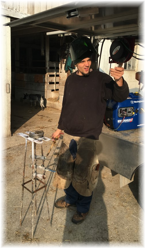 Amish farrier