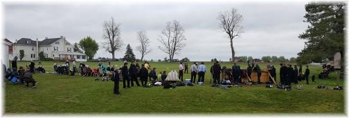 Amish playing baseball 5/5/16