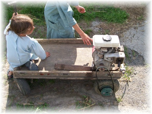 Amish go-cart