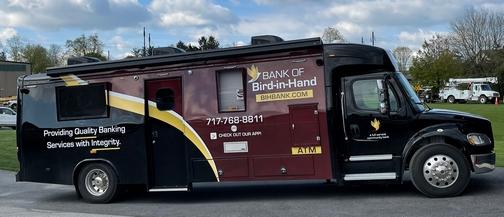 Amish mobile bank