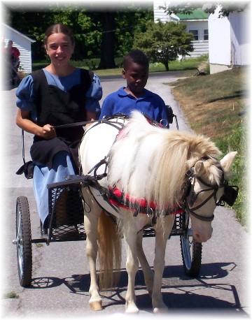 Pony ride 7/27/11
