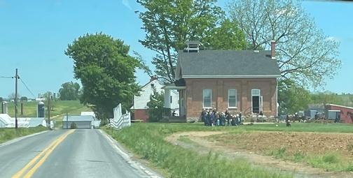 Amish school picnic