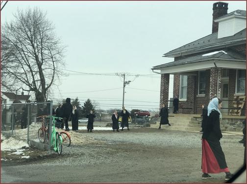 Amish school recess 2/22/19 (Click to enlarge)