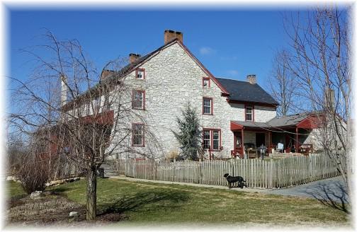 Stone farmhouse near White Horse, PA 3/2/16