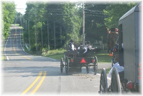 Amish church traffic 6/20/10