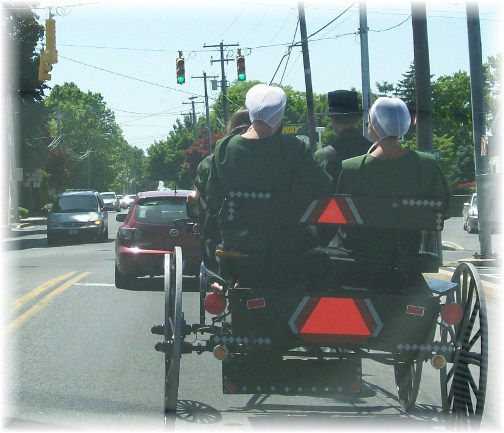 Amish Sunday traffic 5/20/12