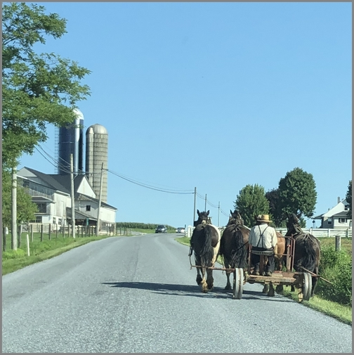 Lancaster County backroads 8/23/18