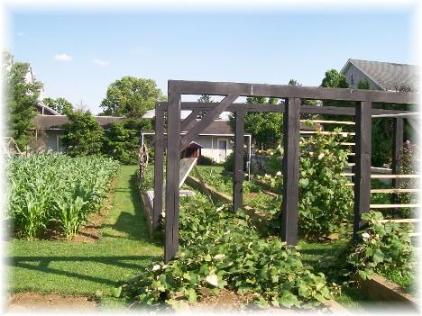 Amish garden Lancaster, PA