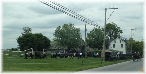 Amish youth gathering 6/7/15 (Click to enlarge)