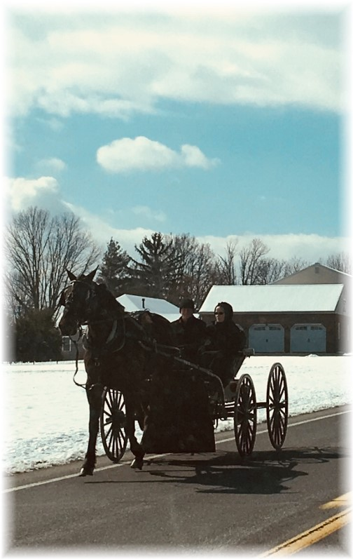 Amish young couple 2/18/18
