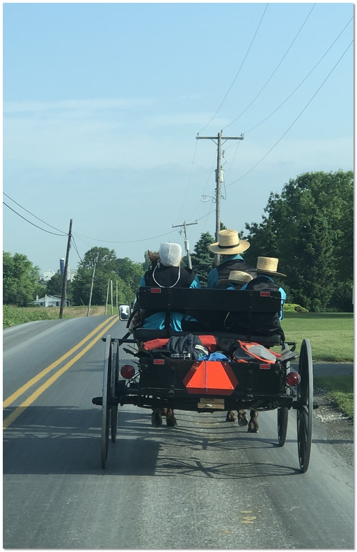 Ascension Day traffic in Lancaster County, PA 5/30/19