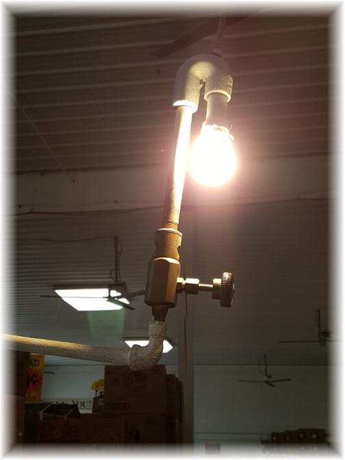 Schaefferstown BB's gas lantern 3/31/16