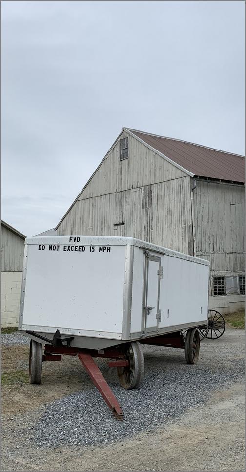 Bench wagon on Old Windmill Farm 4/5/19