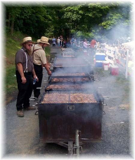 Chicken bbq in Perry County PA