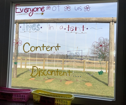 Amish school window 2/17/20