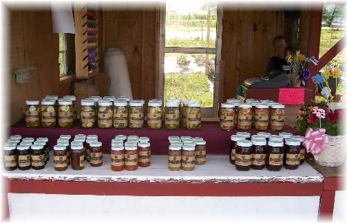 Creekside greenhouse (canned goods) 5/7/11