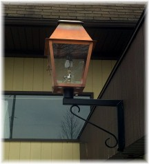 Gas lantern at BB's Grocery Outlet Schaefferstown, PA