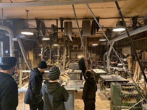 John's wood shop in upstate New York 3/15/20