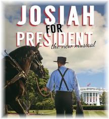 Josiah For President book cover