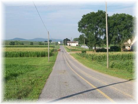 Kraybill Church Road farmwork 7/20/10
