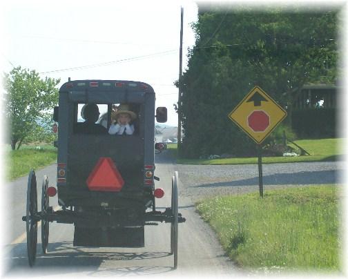 Kraybill road church traffic 6 10 12