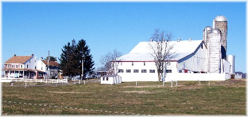 Amish farm in Lancaster PA 1/19/12