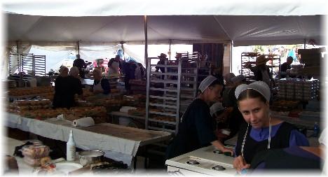 Benefit auction near Leola Pennsylvania