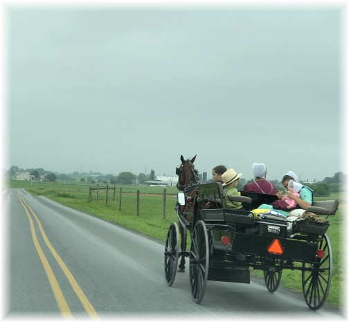 Traffic, Lancaster County, PA 5/28/18 (Click to enlarge)