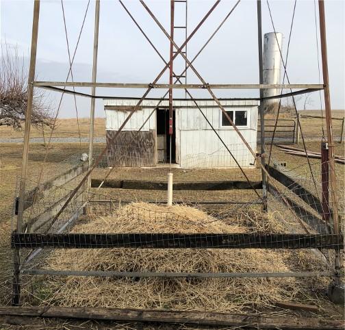 Old Windmill Farm windmill base 2/15/18