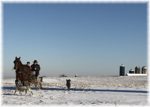 Old Windmill Farm sleigh ride 1/18/18 (Click to enlarge)