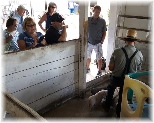 Old Windmill Farm tour 8/24/17