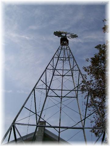 Reidenbach windmill, Lancaster County, PA 9/2/10