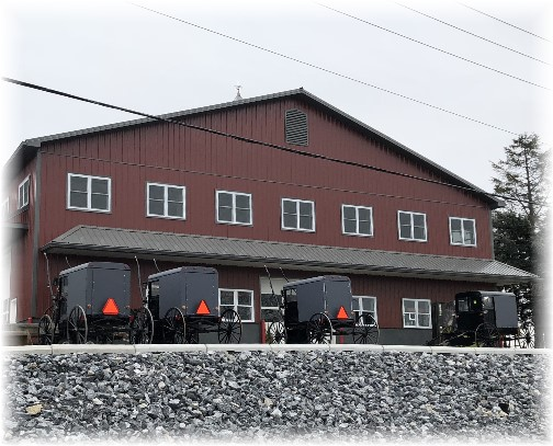 Weavertown Coach Shop carriage lot 3/1/18 (Click to enlarge)