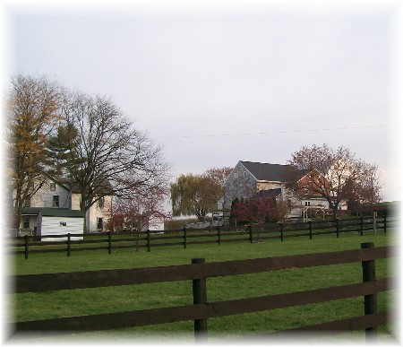 Photo of Wenger Mennonite farm