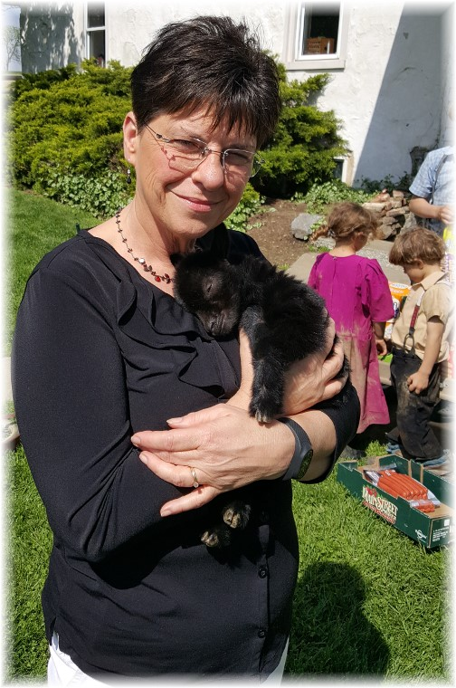 Brooksyne with rejected goat 5/12/16