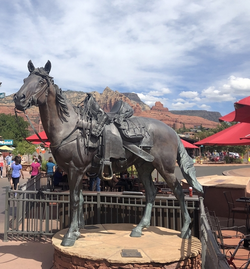 Horse in Sedona, AZ 9/25/19