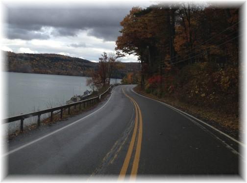 Drive along Otsego Lake, NY 10/18/14