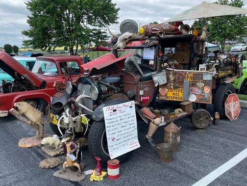 1928 dump truck