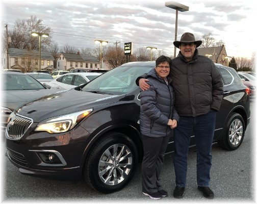 "Our ""new"" Buick Envision (1/13/18)"